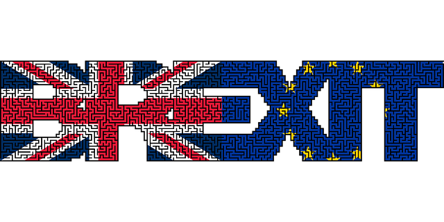 A maze within the letters making up Brexit