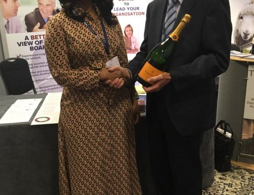ICSA Conference – Bola Tinubu wins prize draw.