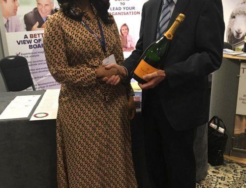 ICSA Conference – Bola Tinubu wins prize draw.